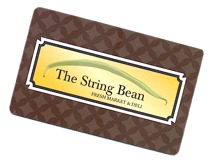 The String Bean Gift Card