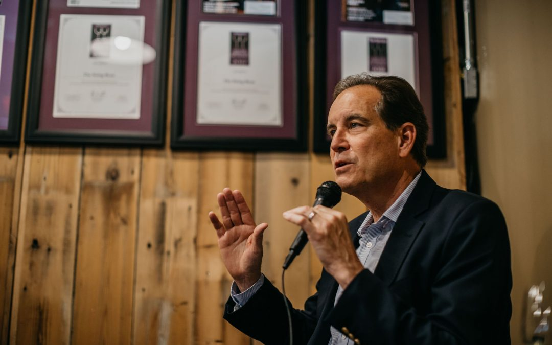 Jim Nantz and a night to remember at The String Bean